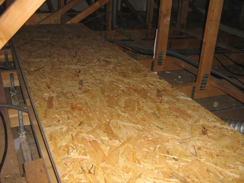 Isolation avec un plancher de combles md renov 39 iso for Creer un plancher dans des combles