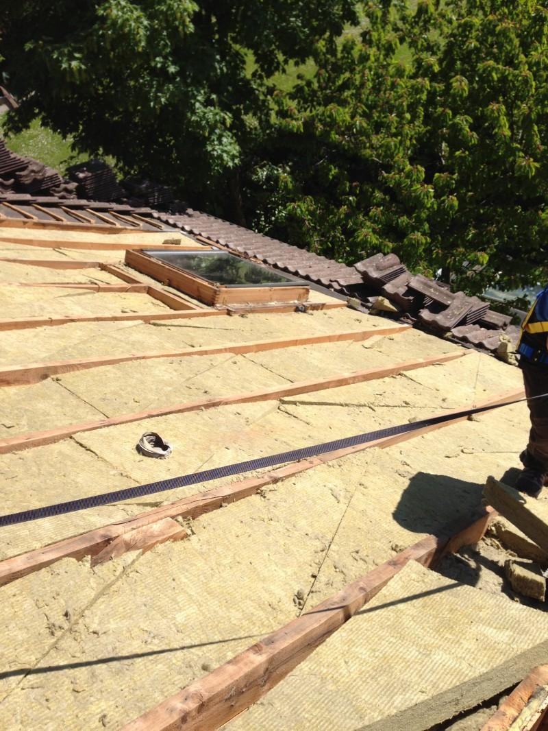 Isolation toiture avec laine de roche md renov 39 iso sp cialiste de l - Isolation toiture laine de roche ...