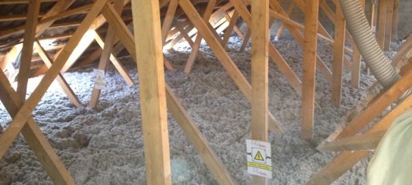 isolation des combles par soufflage de ouate de cellulose et laine de roche md renov 39 iso. Black Bedroom Furniture Sets. Home Design Ideas